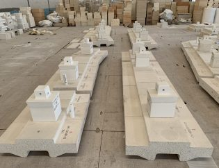 refractories for glass industry