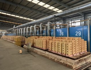 refractory production line of Yumin