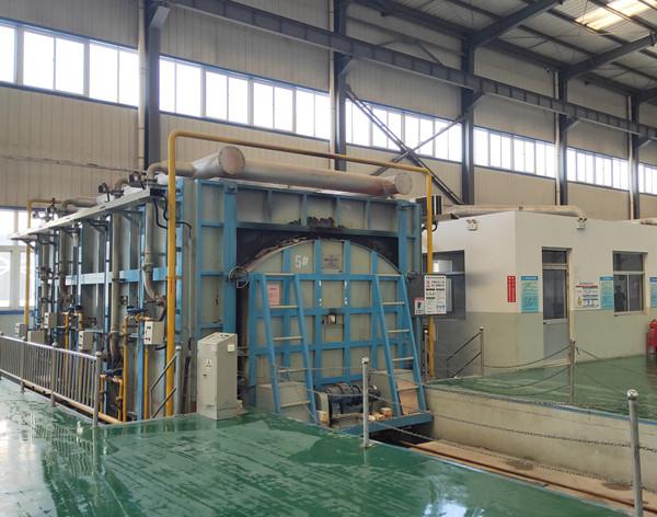 shuttle kiln for refractory material