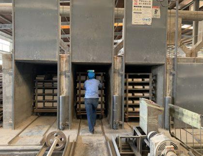 firing process for refractories