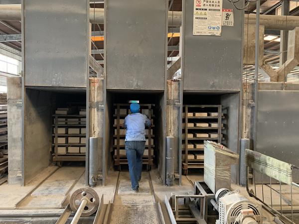 refractory bricks firing process