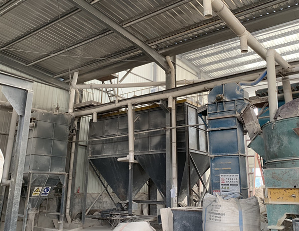 refractory raw material mixing
